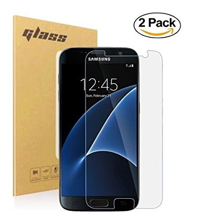 12. Dokokie Samsung Galaxy S7 Tempered Glass Screen Protector