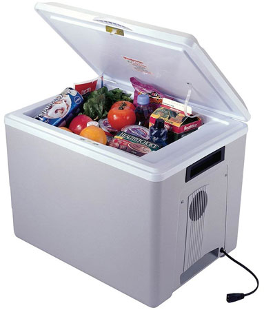 10. Koolatron P75 36-Quart Kool Kaddy Electric Cooler/Warmer, Light Grey