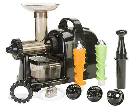 9. Healthy Juicer Electric (by Lexen) - 100% Cold-Press Masticating Electric Juicer by Healthy Juicer