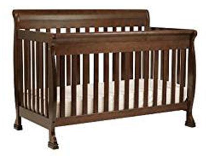 2. DaVinci Kalani 4-in-1 Convertible Crib with Toddler Rail, Espresso