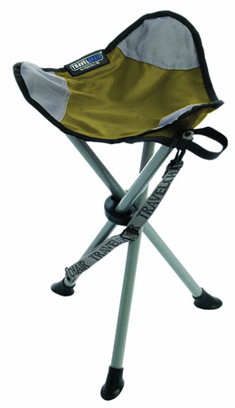 9. Travel chair slaker chair folding tripod stool