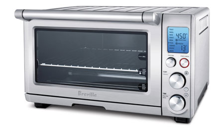 10. Breville BOV800XL Smart Oven 1800-Watt Convection Toaster Oven with Element IQ