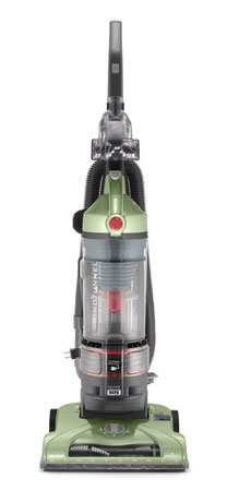 10. Hoover Vacuum Cleaner WindTunnel T-Series Rewind Plus Bagless Lightweight Corded Upright UH70120
