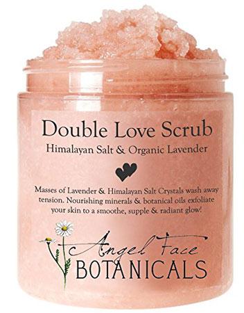 9. Body Scrub (Angel Face Botanical)