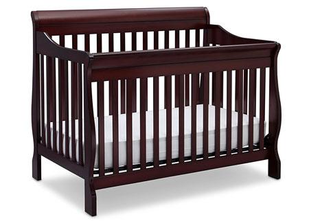 1. Delta Children Canton 4-in-1 Convertible Crib, Espresso Cherry