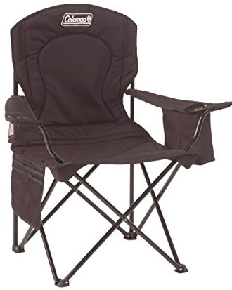 2. Coleman oversized quad chair with cooler.