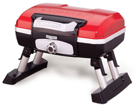 2. Cuisinart CGG-180T Petit-Gourmet-Portable Tabletop Gas Grill