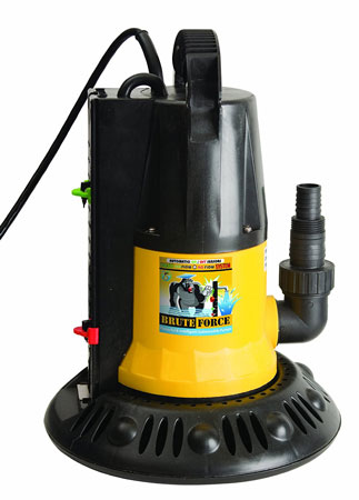 7. Dirt Defender 1250 GPH In-Ground Pool Winter Cover Pump w/ Base - Auto On/Off