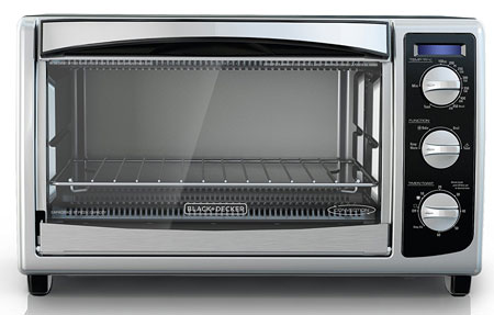 5. BLACK+DECKER TO1675B 6-Slice Convection Countertop Toaster Oven