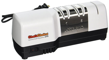 6. Chef's Choice 270 Diamond Hone Hybrid Knife Sharpener