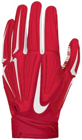 10. Nike Superbad 3.0 Padded Football Receivers Gloves