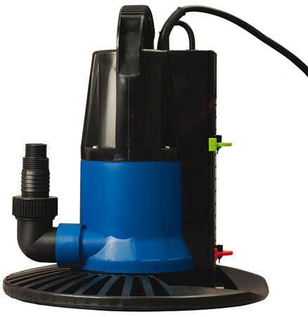 9. Blue Wave Dredger 1250 GPH In Ground Winter Cover Pump w/ Base - Auto On/Off