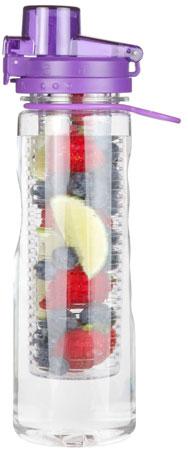 1. Infusion Water Bottle Leak Proof Flip-top Sports Water Bottle BPA-Free Tritan 25 Oz