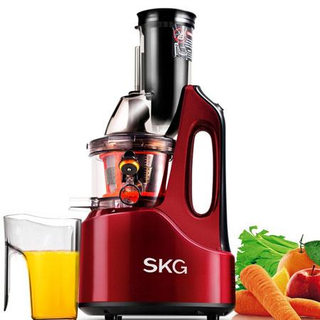 4. SKG Wide Chute Anti-Oxidation Slow Masticating Juicer