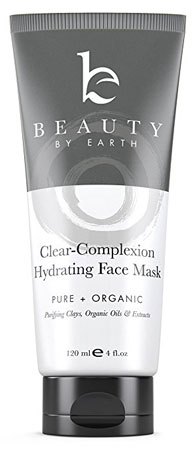 8. Beauty by Earth Hydrating Clay Face Mask