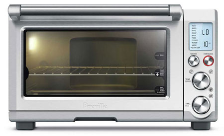 3. Breville BOV845BSS Smart Oven Pro Convection Toaster Oven