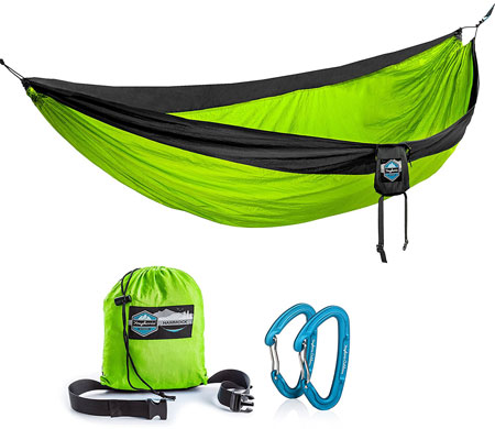 7. Double Camping Hammock by Youphoria Outdoors