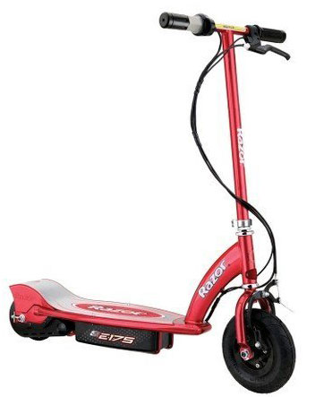 6. Electric Razor Scooter-Red-E175-Outdoor Sporting Sporting Good