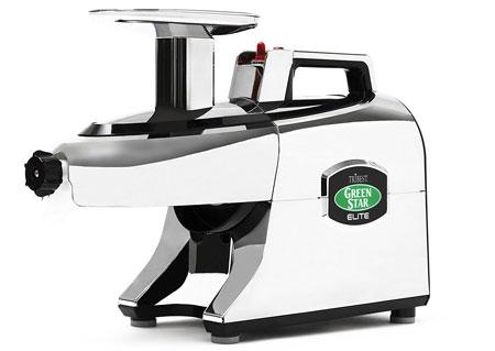 8. Tribest Greenstar Elite GSE-5050 Jumbo Twin Gear Cold Press Juice Extractor