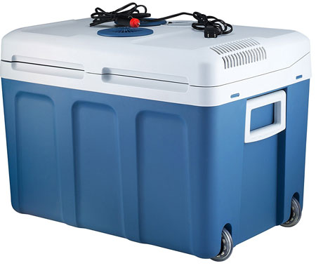 2. Knox 48 Quart Electric Cooler/Warmer with Built in Car and Home Plug