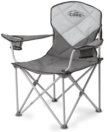 6. CORE folding padded quad chair