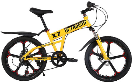 2. ALTRUISM X7 Kids' Mountain Bike Bicycles Aluminum Bicycle For Boys Girls
