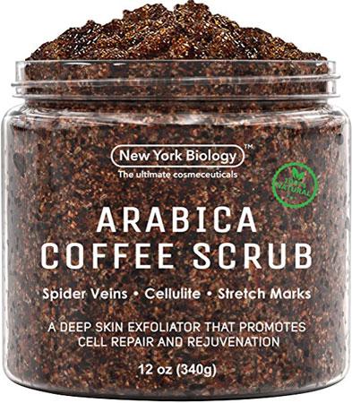 4. New York Arabica Coffee 12-OunceBody Scrub