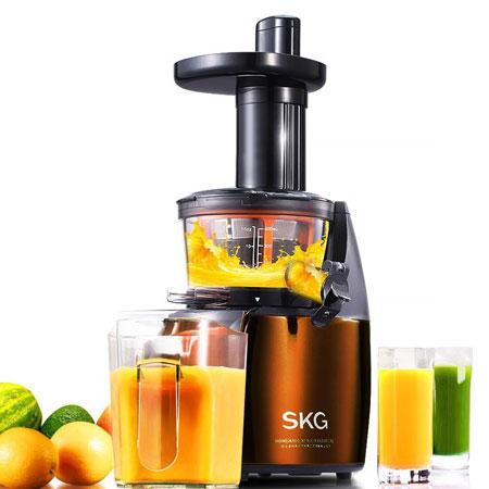 7. SKG Premium 2-in-1 Anti-Oxidation Slow Masticating Juicer & Multifunction Food Processor