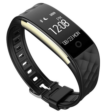 10. Fitness Tracker, WFCL Waterproof OLED Touch Screen Smart Watch Band