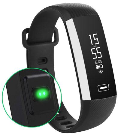 6. AOKII Fitness Tracker Wireless Waterproof Activity Wristband Smart Bracelet with Sports Pedometer