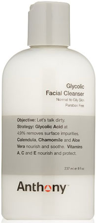 8. ANTHONY GLYCOLIC FACIAL CLEANSER