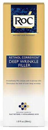 1. RoC®RETINOL Correxion Deep Wrinkle Filler