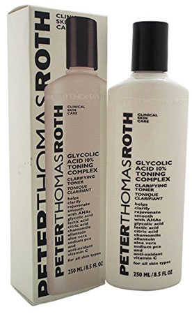 9. PETER THOMAS ROTH GLYCOLIC ACID 10% TONING COMPLEX