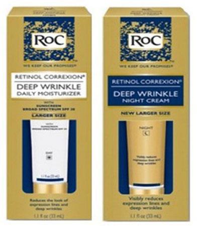 7. Roc Retinol Correxion Deep Wrinkle Night Cream