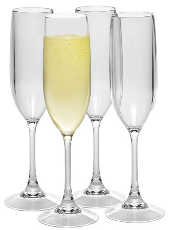 8. Unbreakable Champaign Glasses