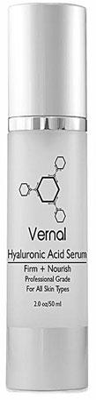 2. Vernal Hyaluronic Acid Serum Anti-Aging Cream