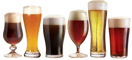 5. Luminarc Assorted Craft Brew Glasses