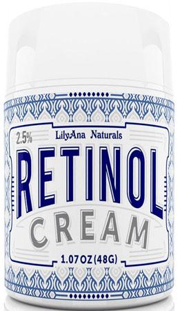 9. LilyAna Naturals retinol cream moisturizer
