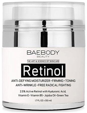 5. Baebody Retinol moisturizer cream