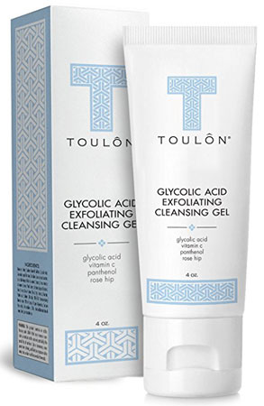 1. Toulon Glycolic Acid Facial Cleanser