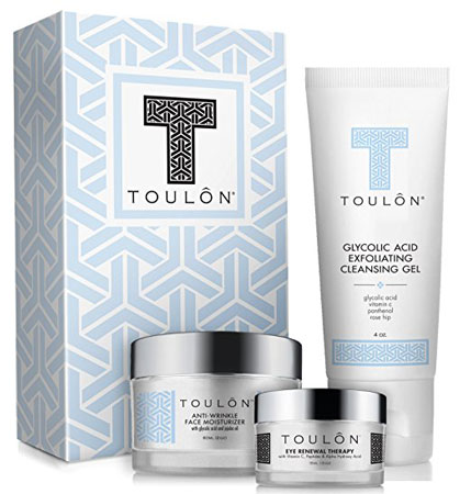 9. Toulon Anti-Aging Skin Care Kits