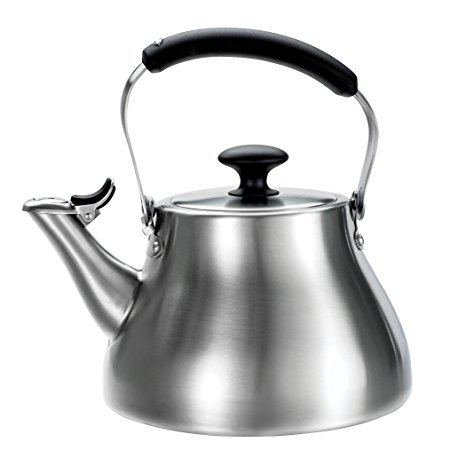 7. OXO Good Grips Classic Tea Kettle, Brushed Stainless