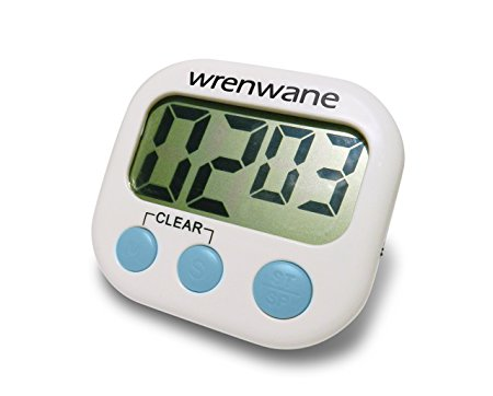 6. Wrenwane Digital Kitchen Timer,