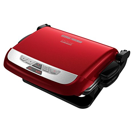 9. George Foreman Multi-Plate Evolve Grill