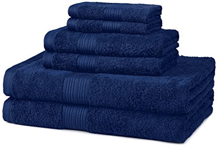 4. Fade-Resistant Cotton Towel Set