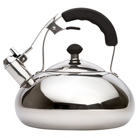9. Vanika Stainless Steel Tea Kettle