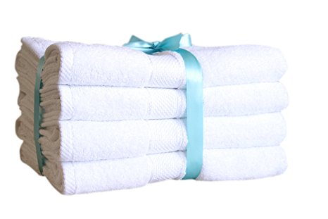 5. Premium Bamboo Cotton Bath Towels
