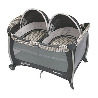 10: Pack 'N Play w/ Twins Bassinet by Graco