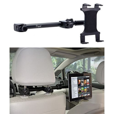3. Premium Multi Passener Universal Headrest Cradle Car Mount