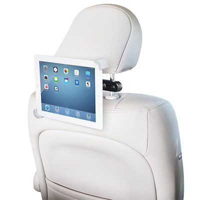 8. LilGadgets CarBuddy Universal Headrest Tablet Bracket